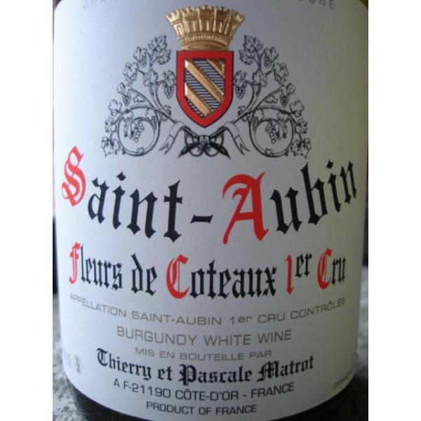 Domaine Matrot - Saint Aubin Fleurs de Coteaux 1er Cru