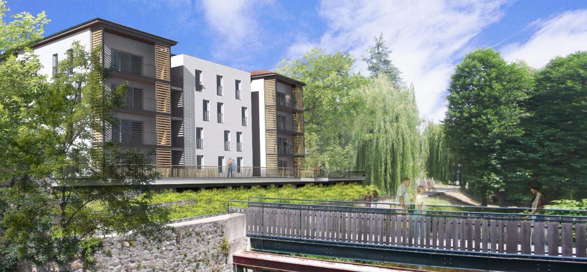 24 logements BBC à Montbrison - 2016 - 2 400 000 € HT