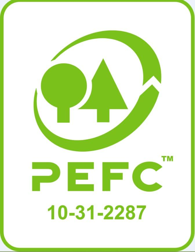 Sidonie, certifié PEFC