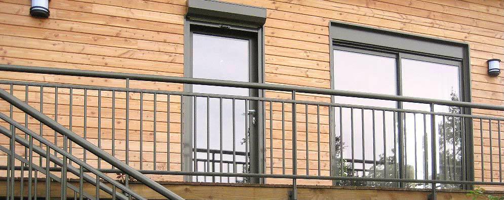 Pose de fenêtre, porte-fenêtre et garde-corps en Corrèze
