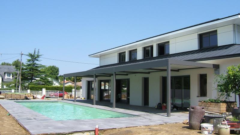 Construction neuve, piscine