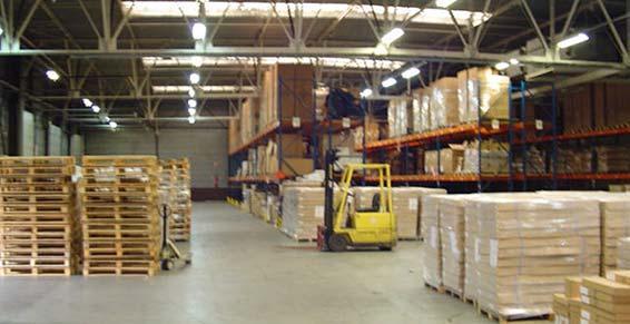 zone de réception Logistique ARC  à Emerainville Seine et Marne