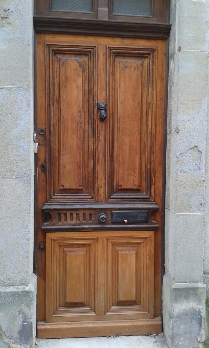 restauration de porte d entree