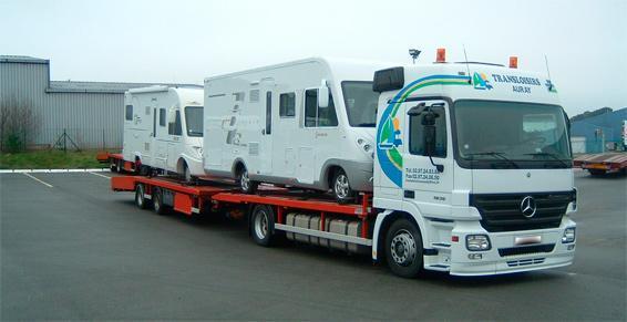 Transloisirs Ouest à Brech - Transport de mobile homes