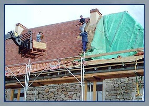 Réalisation et rénovation de toitures - Christian Fau - Espédaillac