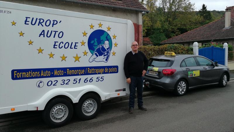 EUROPE AUTO ECOLE à 55 minutes de PARIS