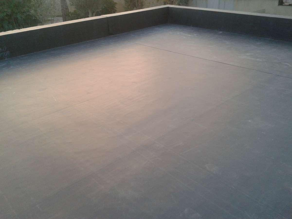 étanchéité EPDM toiture terrasse inaccessible