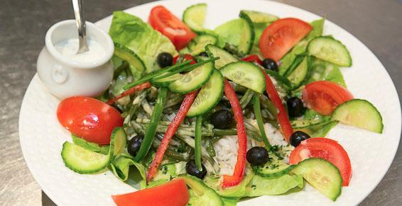Salades fraîcheur, pour les petites faims