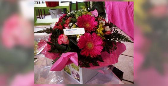 Bouquet rond - Acacia Fleurs -Fleuriste Cannes