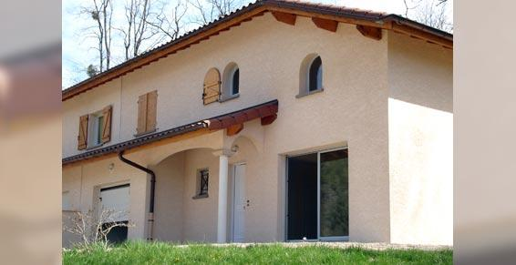 agence immobilière - Maison individuelle