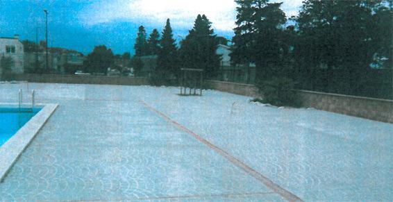 Création plage bassin olympique - Centre nautique de Graulhet