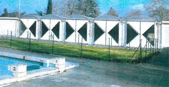 Piscine couverte  piscine olympique de Graulhet - État avant travaux