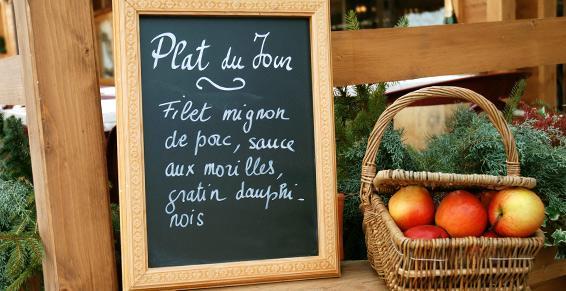 Cuisine traditionnelle - Restaurant Dun les Places