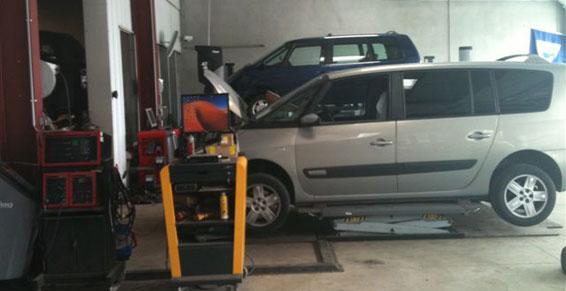 Garage : mécanique tôlerie