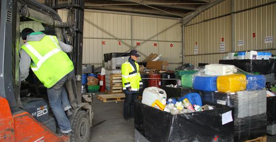 Stockage de produits toxiques - Coved à la Chapelle Saine-Luc