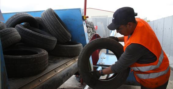 Collecte des pneus dans l'Aube - Coved