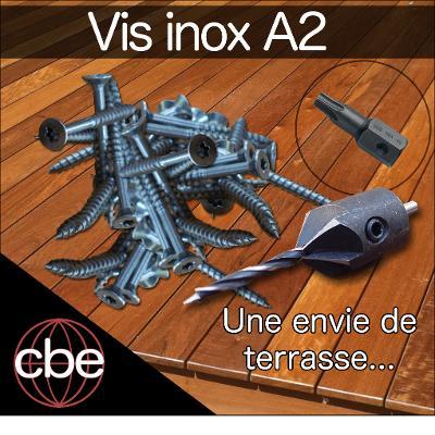 Pack Visserie pour Terrasse Bois - INOX A2 -  10 m²