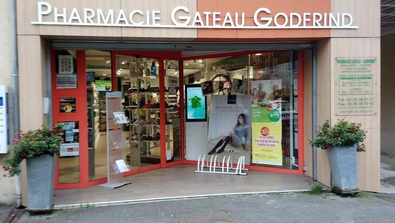 Bienvenue à la Pharmacie Gateau-Godfrind