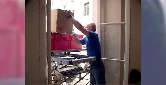 Demenagements Cabrie - Limoux - Manutention de masses lourdes