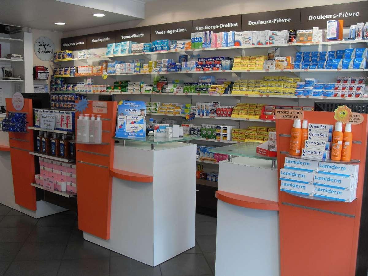 Produits en libre service dans notre pharmacie à Valenciennes