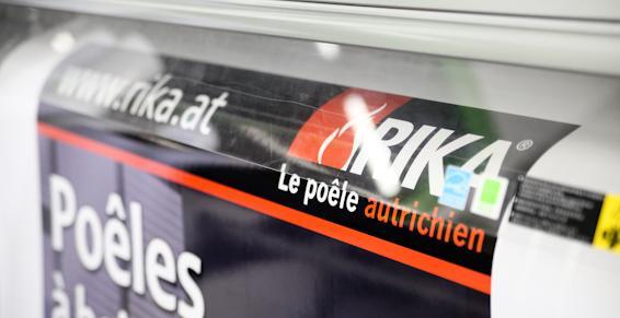 Fourniture de panneaux publicitaires près de Beauvais