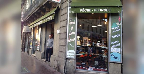 Montpellier - Pêche, appâts, matériel de plongée