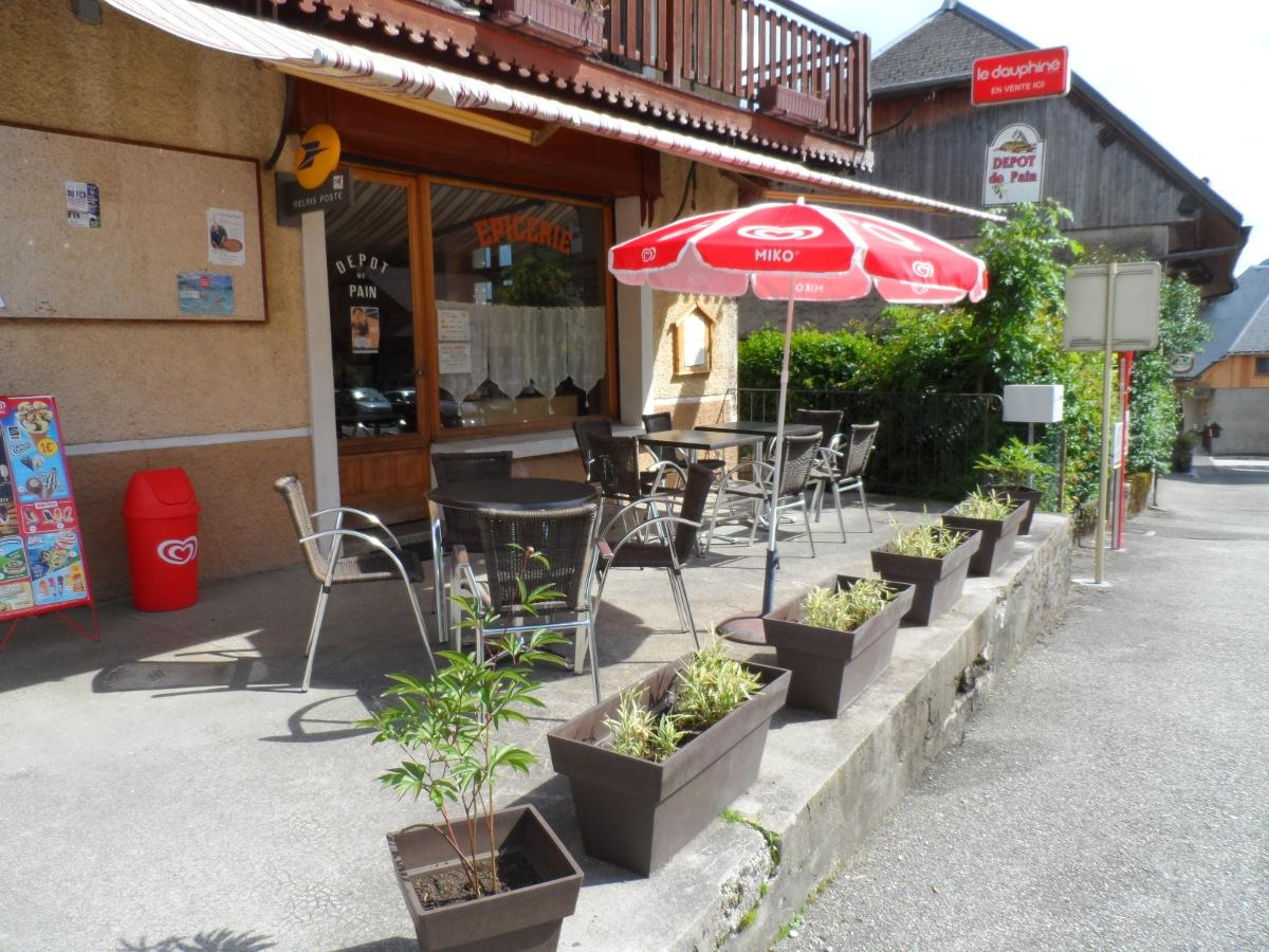 Terrasse du bar
