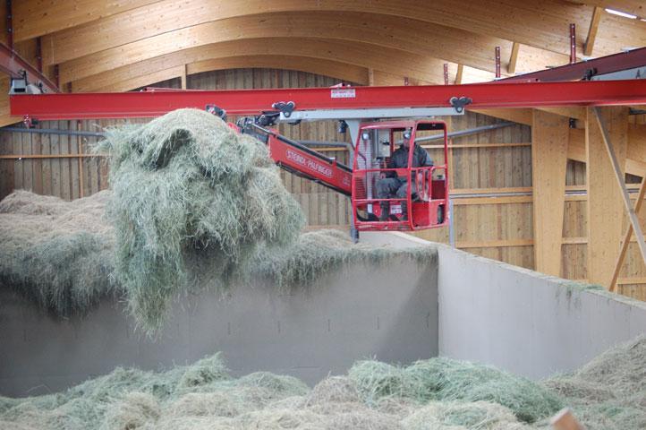 Matériel agricole séchage en grange griffe STEPA