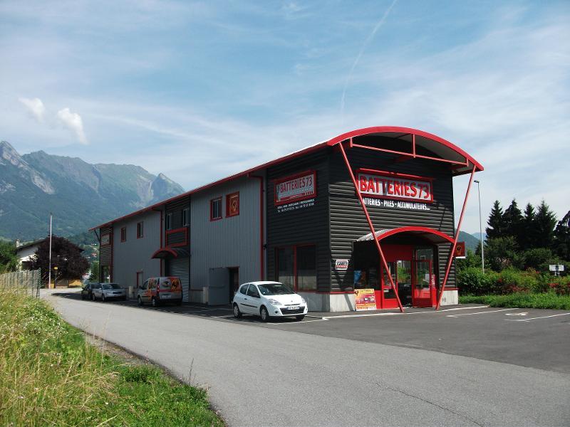 Exemple de Bâtiment construit sur Albertville en Savoie