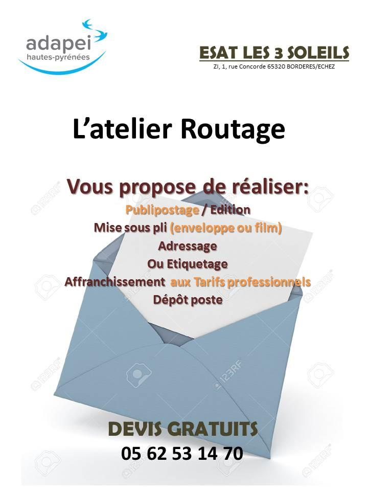 Flyer routage