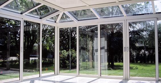 vérandas - baie vitrée