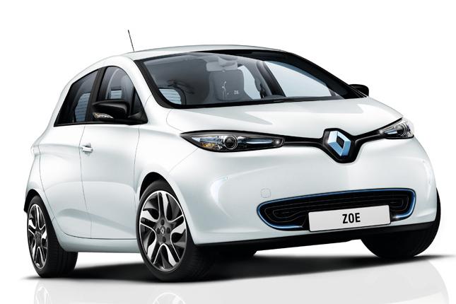 Zoe, la voiture éléctrique par Renault