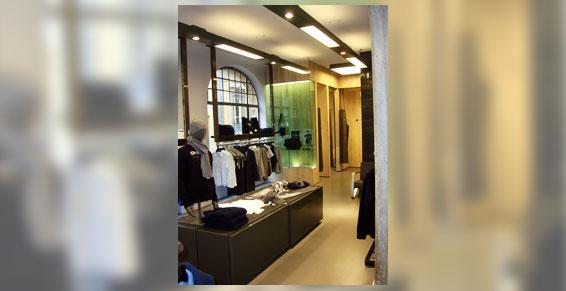 Menuiserie pour intérieur de magasin Longeville lès Metz