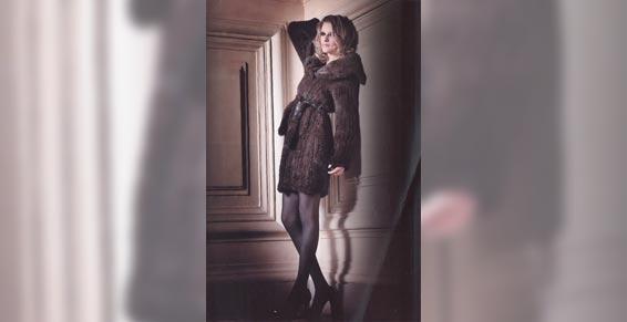 Vêtements de cuir et peau - Manteau pour femme
