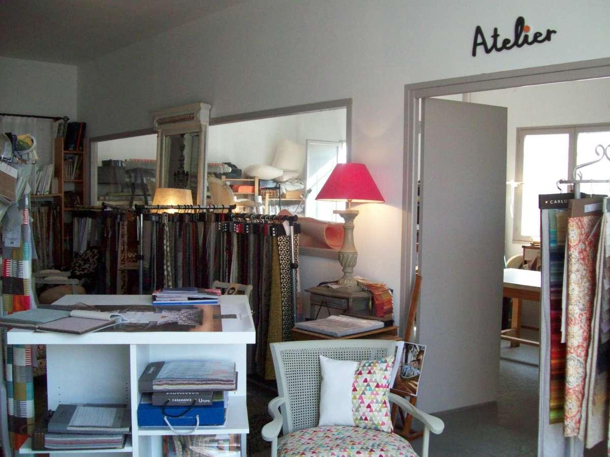 Atelier show room Tapissier à Bayonne