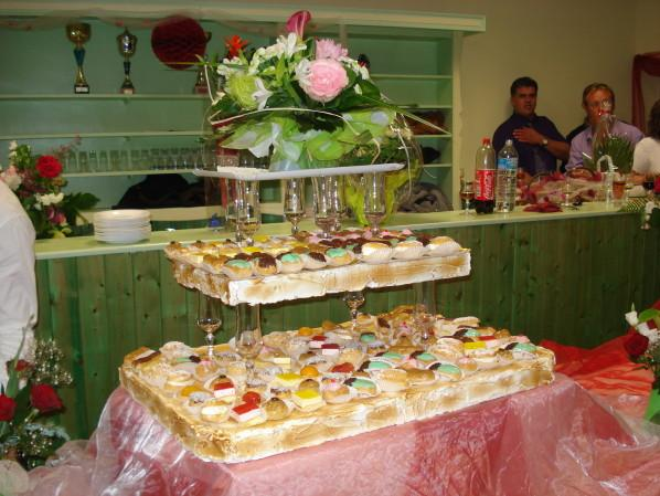 Buffet de desserts, réalisation par un pâtissier de Montabon