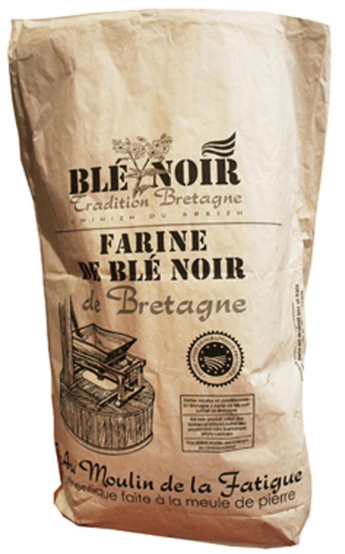Crêperie Ty Skorn à Cancale Blé noir de Bretagne BIO faite à  la meule de pierre