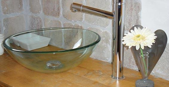 vasque détail