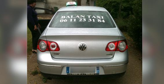 Balan Taxi - l'efficacité en tout convivialité