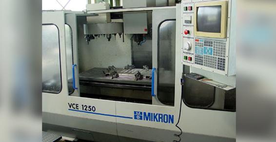 Mikron VCE 1250 - Logiciel DAO