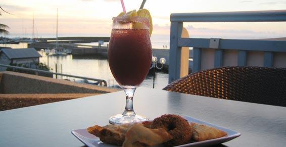 Vue imprenable sur l'océan dans votre restaurant à La Réunion