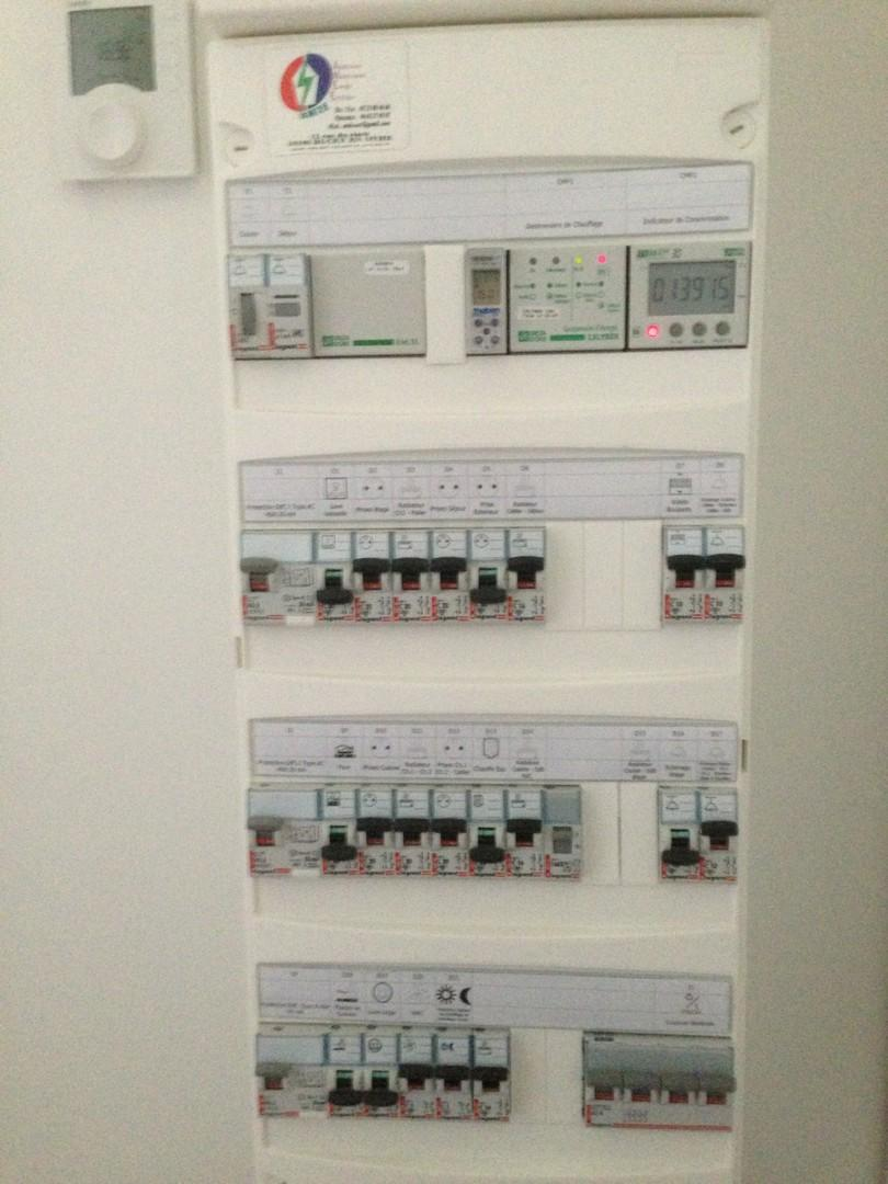 Remplacement de tableau électrique et mise en sécurité