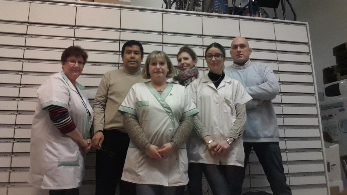 L'équipe de la Pharmacie Champbertrand spécialisée en orthopédie