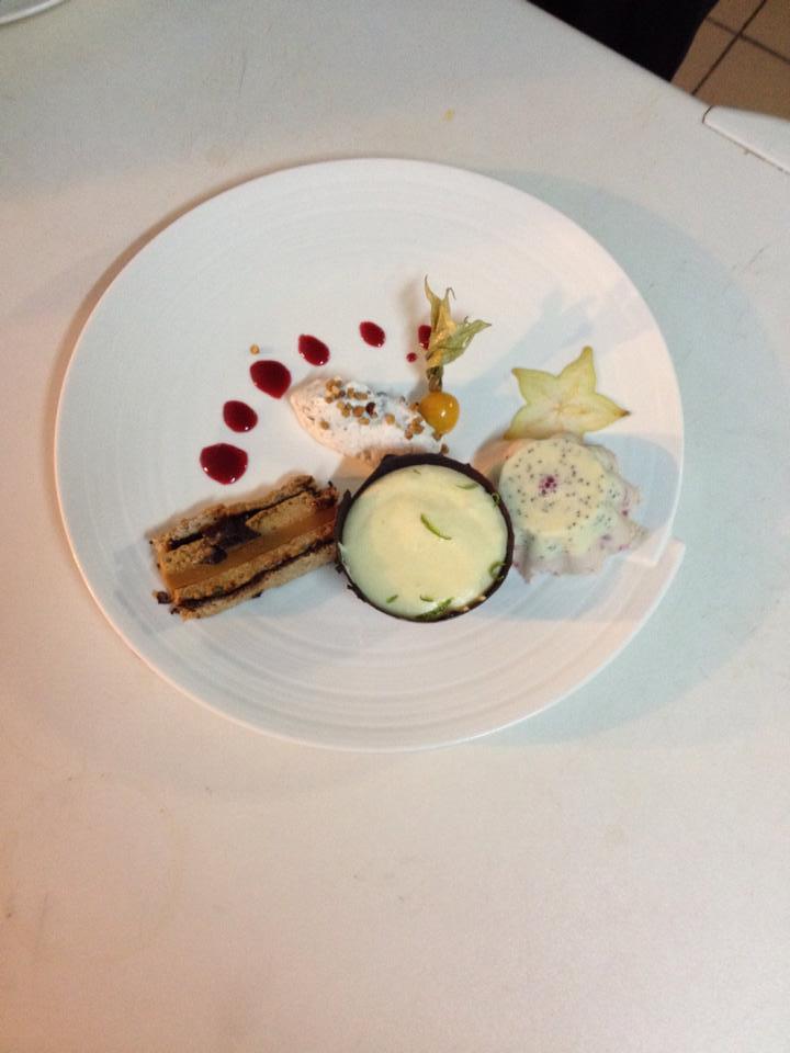 Dessert du restaurant l'Auberge de la Régordane à Solignac-sur-Loire
