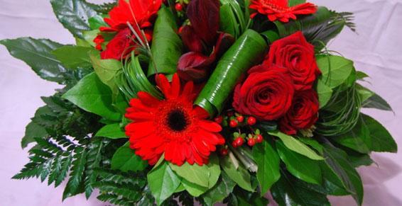 Fleuriste - Bouquet rond à Nantes
