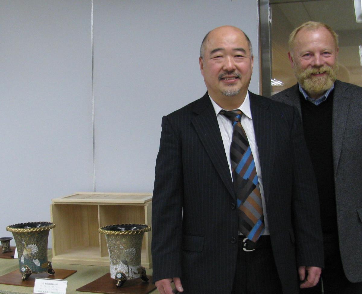 Sakai San et nos NishikiBachi exposes au Manfuten