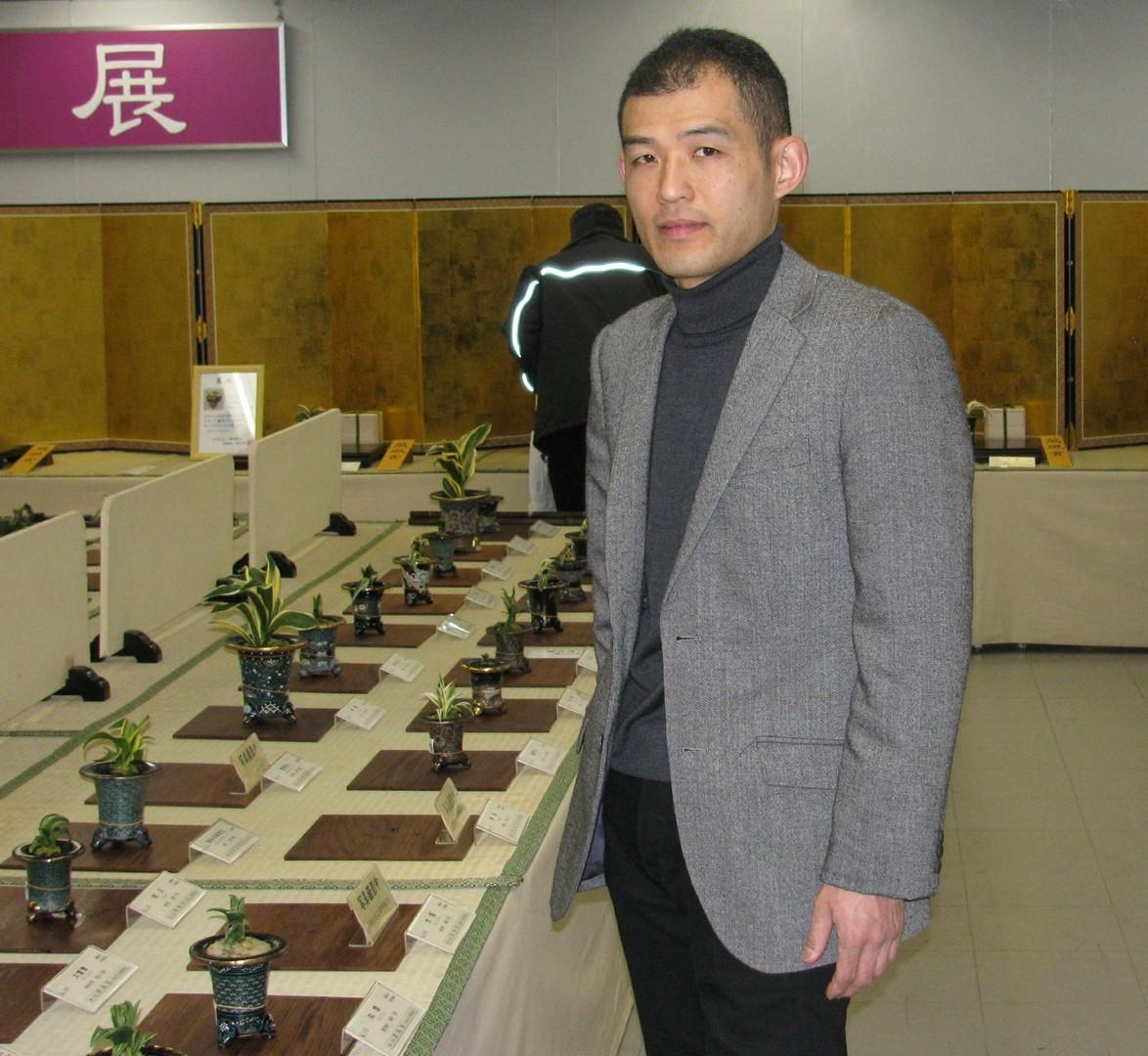 Shinichi apres le jugement au Manfuten photo Bonsai Barber