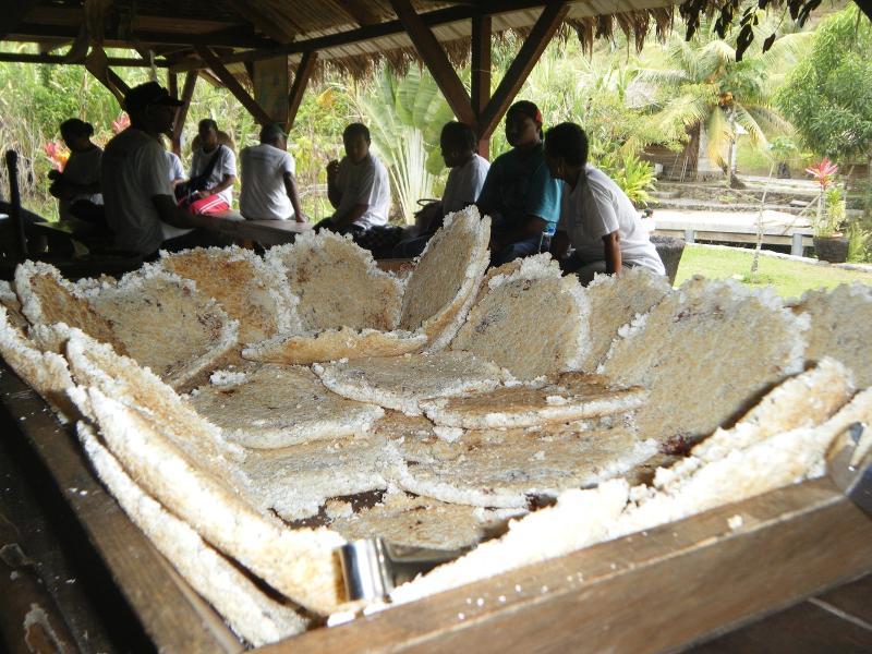 fabrication de cassaves chaque premier samedi du mois
