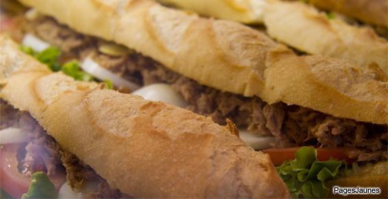 Sandwichs au thon et aux crudités, pour un repas complet