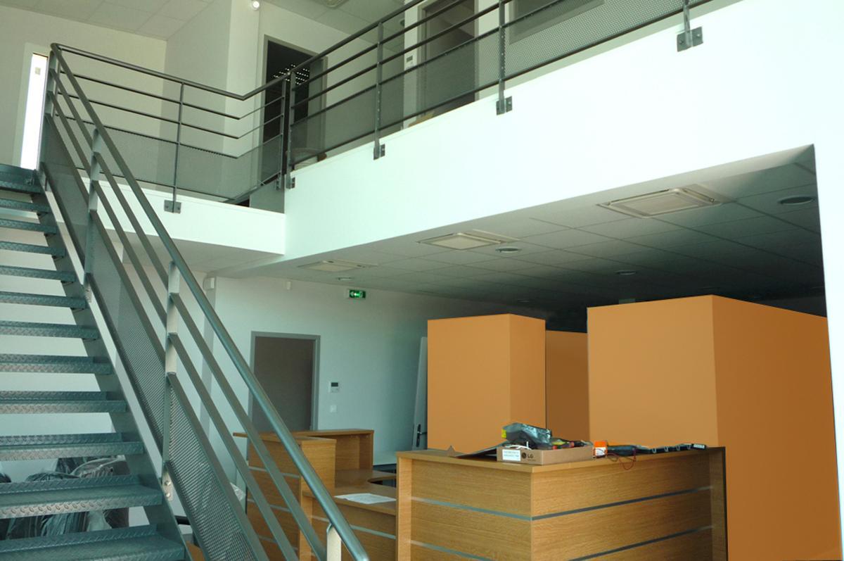 34- Hall d'accueil bureaux